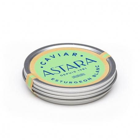 Caviar Esturgeon Blanc, 125 gr - ASTARA