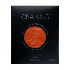 Salmone King affumicato preaffettato, 100 gr - Nuova Zelanda - Ōra King