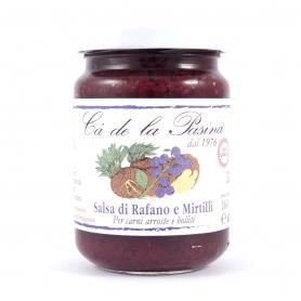 Salsa di Rafano e Mirtilli, 160 gr - Ca' de la Pasina