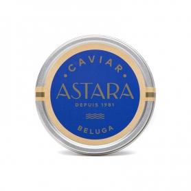 Königliche Beluga-Kaviar, 100 gr - ursprünglich aus dem Iran - ASTARA