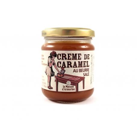 Caramello al burro salato (Crema spalmabile), 220 gr - Maison d'Armorine - Prodotti alimentari dal mondo