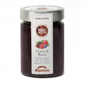 Berries compote, 350 gr - Alpenzu