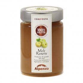Composta di mele renette, 350 gr - Alpenzu - Confetture