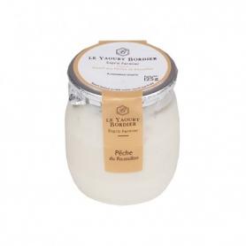 Yogurt Bordier con pesca di Roussillon, 125 gr - 6 vasetti