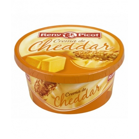 Crema di Cheddar, 125 gr - Reny Picot