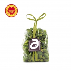 Pistacchio verde di Bronte DOP pelato, 100 gr - Aricchigia - I Secchi e Sotto Sale