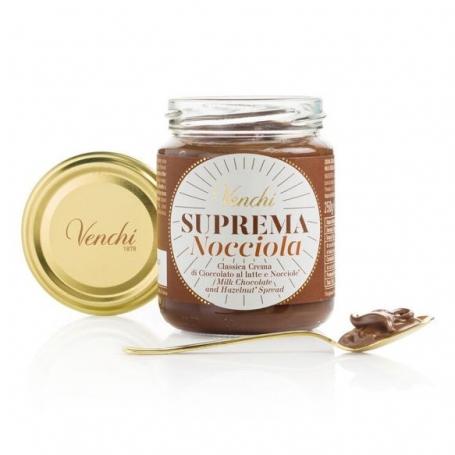 Crema Spalmabile al Cioccolato Suprema Nocciola, 250g - Venchi - Creme al cioccolato
