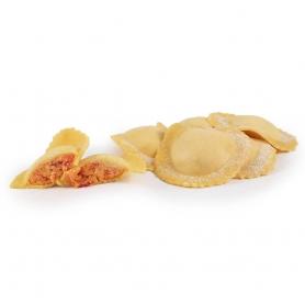 Tortelli melone e peperoncino chiusi a mano, 400 gr - Pasta ripiena