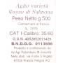 Aglio Rosso di Sulmona, 500 gr - Calibro 35/60 - Az. Agr. Palombizio