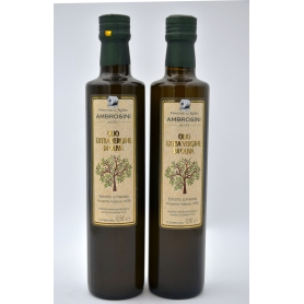 Huile d'olive extra vierge Ambrosini 0,5 L. - Frantoio e Molino Ambrosini