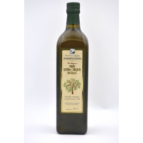 Ambrosini organic extra virgin olive oil - 1 liter bottle - Frantoio e Molino Ambrosini