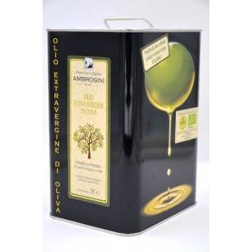 Ambrosini organic extra virgin olive oil - 3 liter can - Frantoio e Molino Ambrosini