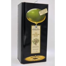Ambrosini extra virgin olive oil - 5 liter can - Frantoio e Molino Ambrosini