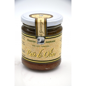 Pate of Taggiasca olives Fine Selection 180gr. - Frantoio e Molino Ambrosini