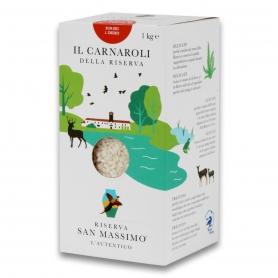Riso Carnaroli superfino, 1 kg - Riserva San Massimo