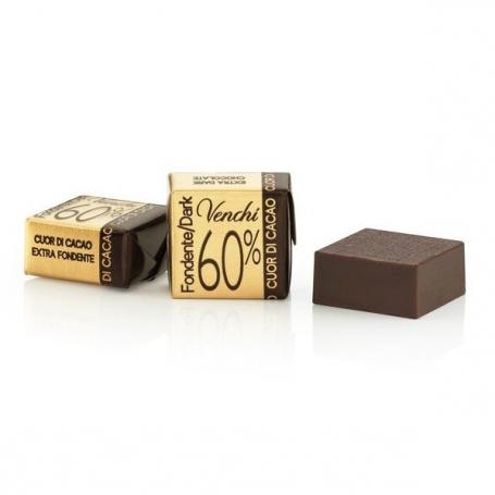 Cioccolatini Cubotto Fondente 60%, 500 gr - Venchi