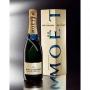 Moet & Chandon - Champagne Réserve Impériale, l. 0,75 astuccio 2 bott.