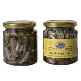 Tasty anchovies, 314 ml - Delfino Battista