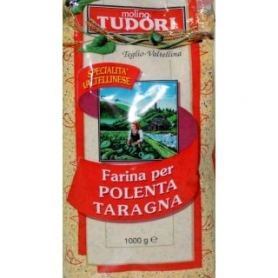 Farina per polenta taragna, 1 Kg - Mulino Tudori - Farine di Mais e Polenta