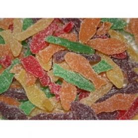 Süßigkeiten Obst Fisch, 500 gr