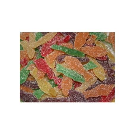 Caramelle Pesci di frutta, 500 gr - Caramelle