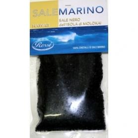 Hawaii – Sale marino nero dell'isola Molokai, 120 gr