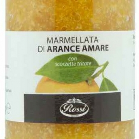 Orange Marmalade love with chopped peel, 330 gr - Rossi