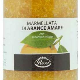 Marmellata di Arance Amare con scorzette tritate, 330 gr - Rossi