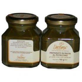 Cooked pasta pistachio flavor, 160 g