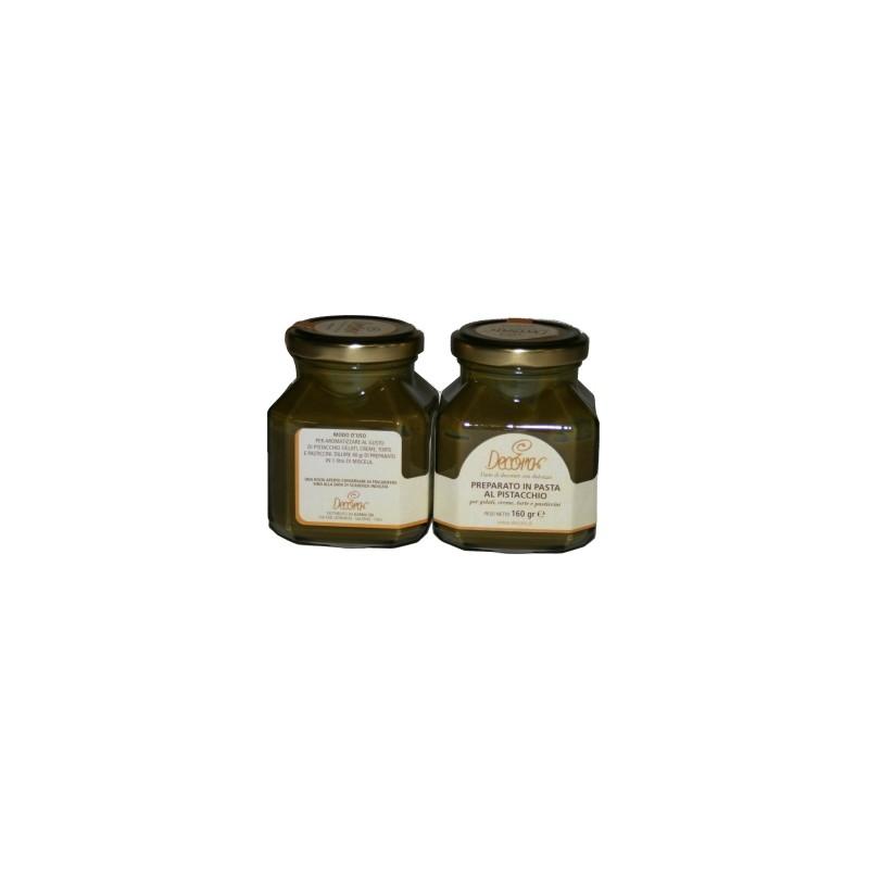 Preparato in pasta gusto pistacchio gr 160