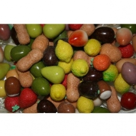 confettata marzipan fruits, 500 gr - Mucci