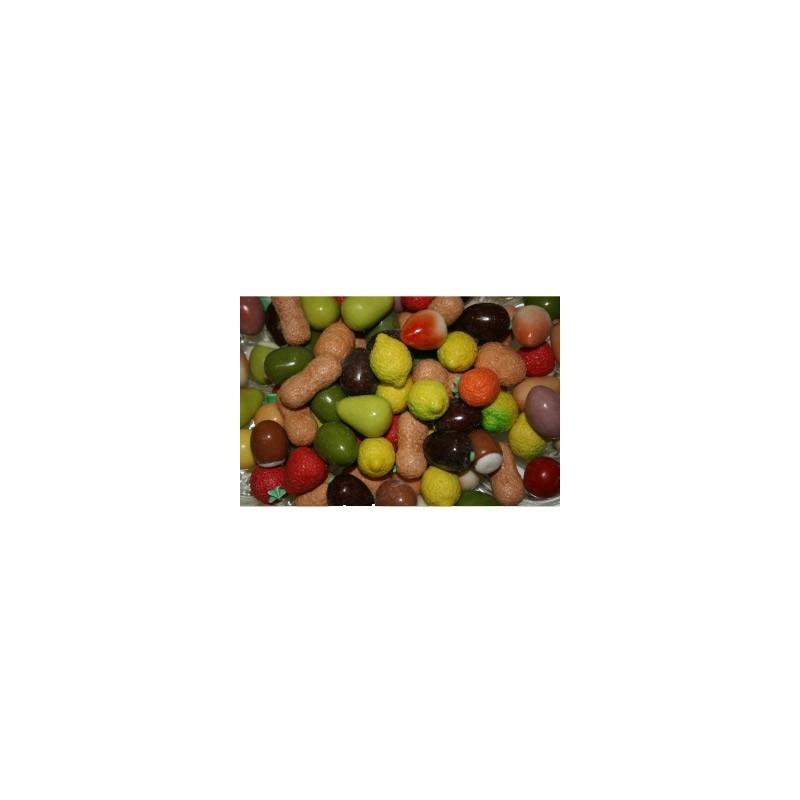 Mucci-Frutta confettata di marzapane-500 gr