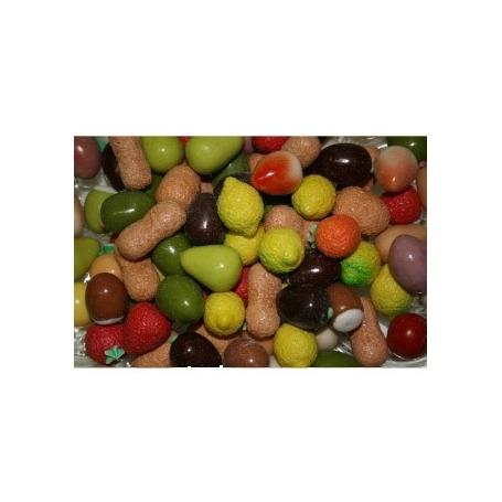 Frutta confettata di marzapane, 500 gr - Mucci - Caramelle