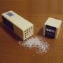 Argento alimentare in pagliuzze, 1 gr - Decorazioni alimentari