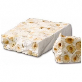 Handmade nougat crumbly with Piedmont hazelnuts, 300 gr - Selection Red 1947