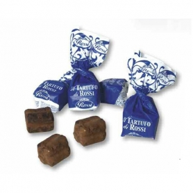 The Rossi Truffles - soft truffles with hazelnuts, 200 gr