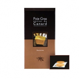Foie gras de canard cuit Sauternes, 90 gr - Jeanne Bertot