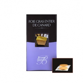 Foie Gras de Canard Entier du Sud-Ouest with figs - Mi Cuit, 90 gr. - Jeanne Bertot