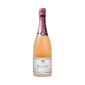 Champagne Aubry Sablé Rosé Extra-Brut Premier Cru, l. 0,75 - astuccio 1 bott.