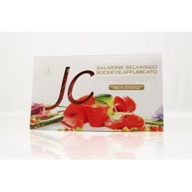 Salmone affumicato Selvaggio Red King 100 gr - Jolanda de Colò