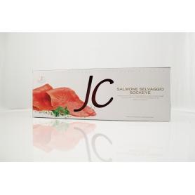 Salmone affumicato Selvaggio Sockeye 620  gr - Jolanda de Colò
