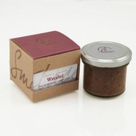 """Paté de rhubarbe et truffe noire """"Wendel"""", 100 gr - Croco et Smilace"""