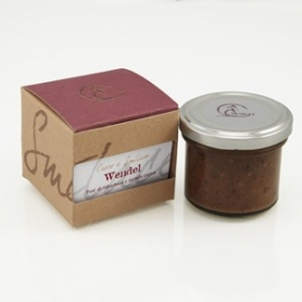 "Rhubarb paté and black truffle ""Wendel"", 100 gr - Croco and Smilace"