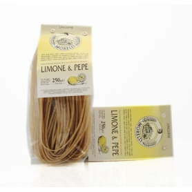 Linguine 250 gr lemon and pepper - Pastificio Morelli