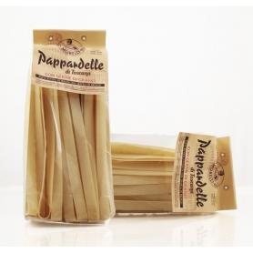 Tuscan pappardelle wheat germ 500 gr - Pastificio Morelli