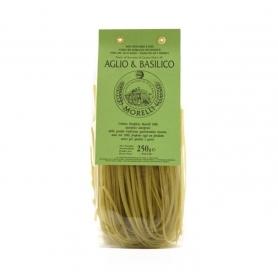 Linguine Aglio e Basilico Morelli 250 gr