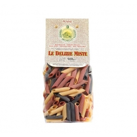 Penne 500 gr mixed delights - Pastificio Morelli