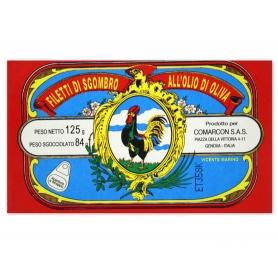 Filetti di sgombro - Vicente Marino, 125 gr