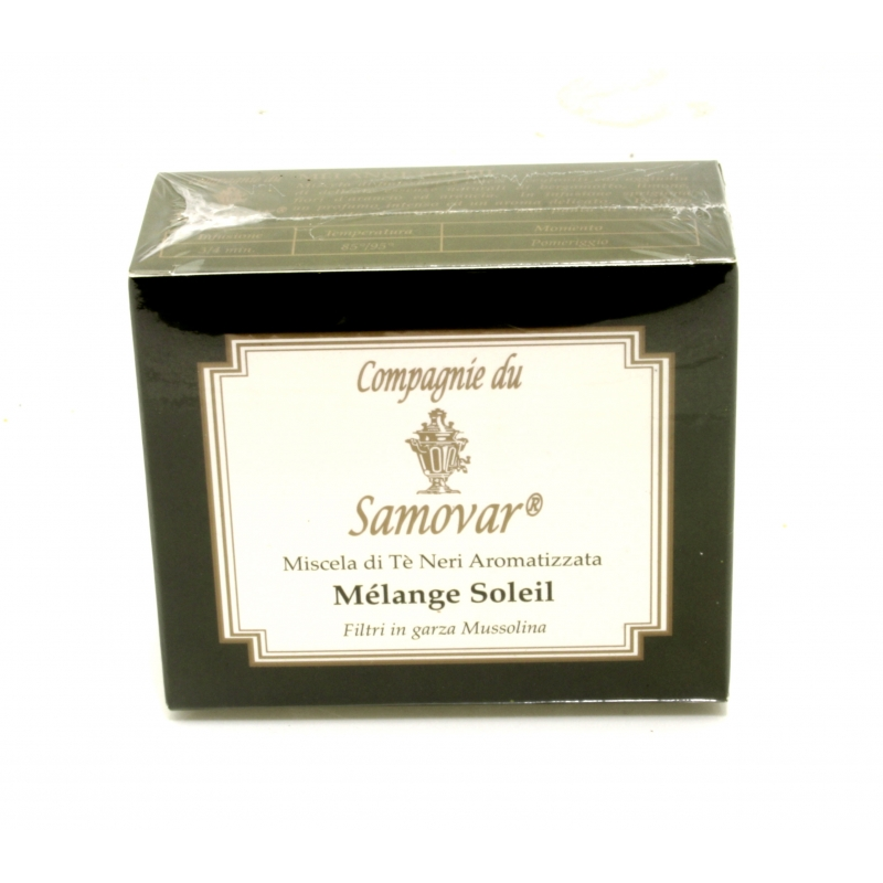 Thé Samovar mélange-Soleil-conf de 20 filtres