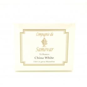 Thé Samovar - Chine blanc - boîte de 20 filtres
